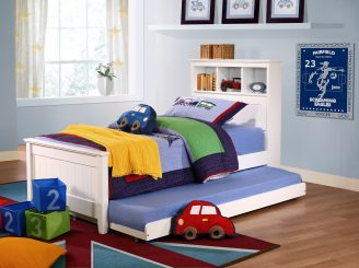 Butterworth bedroom scene 2 boy plus trundle