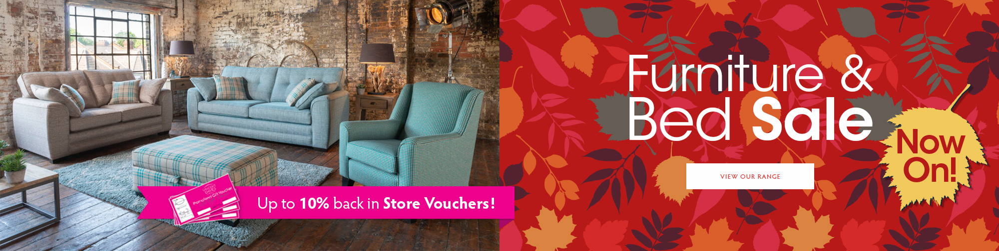 Autumn Furniture & Bed Sale 2019 – Now On