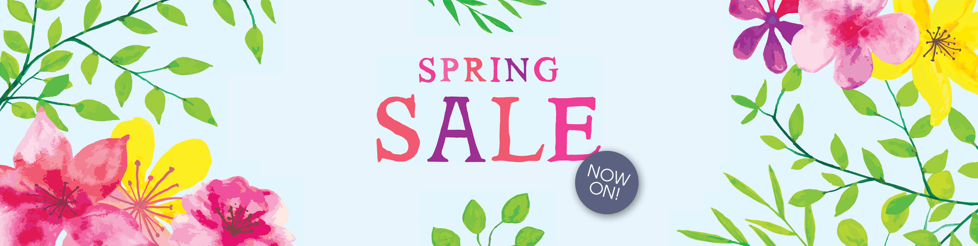 Spring Sale Now On – Apr 2021