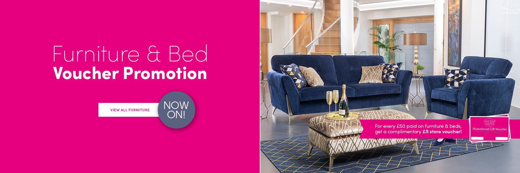 Furniture & Bed Voucher Promotion Now On